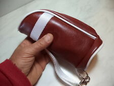 BORSA PORTAPIPA E ACCESSORI PER 2 PIPE IN SIMILPELLE MODELLO GOLF NEW