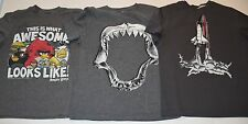 t-shirts lot Hanna Andersson rocket Gap Kids Shark Old Navy angry birds boy 8 10