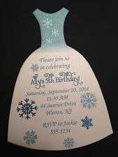 Frozen Elsa Princess Birthday Party Invitation - All Wording Customized For You!