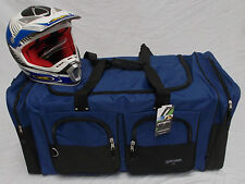 XL Motorcycle atv gear bag motocross off road  snowmobile Yamaha royal blue