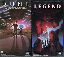 Dune (VHS, 1997, Widescreen Version) & Legend (VHS, 1991); 2 Sci-Fi & Fantasy