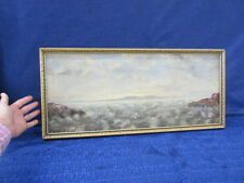 ANTIQUE SEASCAPE PAINTING BY C. DOUGHERTY