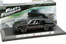 Dom 's Buick Grand National GNX film presque and Furious 4 2009 Noir 1:43 Greenli
