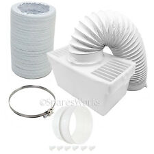 100cm Hose Condenser Box with Extra Long Pipe & Adapter for HOOVER Tumble Dryer