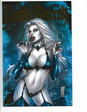 Lady Death Damnation Game #1 Coffin Comics Premium  Edition Marc Silvestri NM