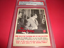 "1964 Addams Family #59 ""come on in the playroom"" psa 7  Gomez"