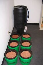 EBB & FLOW DELUXE  HYDROPONIC SYSTEM 6 GROW SITES EXPANDABLE TO 18