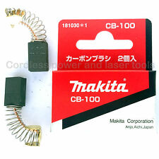 Makita 5801B Circular Saw Genuine Original CB100 Carbon Brushes Part 181030-1
