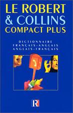 Le Robert & Collins Compact Plus Dictionnaire Francais-anglais/anglais-francais