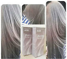 New A.38 Berina Light Ash Blonde color A38 Permanent Hair Dye Color Cream+Ship