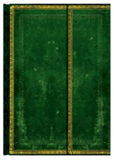 """Paperblanks Journal Old Leather """"Jade"""" LINED Midi 5 x 7"""" Book Writing"""