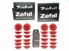 ZEFAL BICYCLE BIKE Glueless Patches Repair Puncture Kit 4X Pack