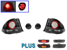 2001-2005 LEXUS IS300 4DR ALTEZZA LED TAIL LIGHTS + AMBER & RED LED SIDE MARKERS