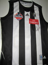 NICK MAXWELL HAND SIGNED COLLINGWOOD 2010 PREMIERS JERSEY + PHOTO PROOF & COA