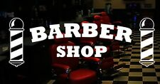 Barber Shop vinyl sticker window door sign graphics mirrors salon barbershop