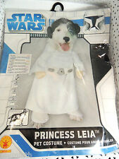 Star Wars PRINCESS LEIA Pet Costume for SMALL DOGS - NEW  @
