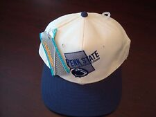 PENN STATE NITTANY LIONS NUIMAGE  SCRIPT NEW VINTAGE 90'S HAT CAP  SNAPBACK