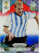 2014 World Cup Prizm Red White Blue Plaid Parallel No.6 H.CAMPAGNARO (ARGENTINA)