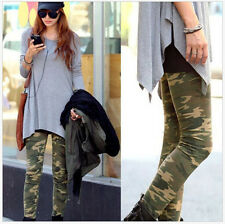 Hot Fashion Women's Pants Sexy Camo Camouflage Stretch Trousers Leggings