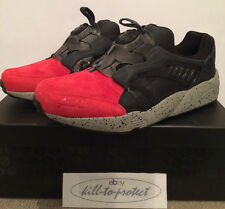 PUMA DISC x RONNIE FIEG COA Friends & Family Sz US11 UK10 Red Coat Of Arms 2014