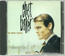 Baker, Chet in New York DCC GOLD CD ohne Slipcase  GZS 1101 RAR