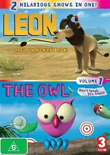 Leon And The Owl : Vol 1 [ DVD ], Region 4, Like New, Fast Post...6412