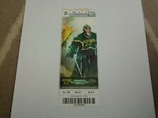 Jussi Jokinen Autographed  200th NHL Game Ticket