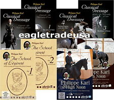 The Philippe Karl Classical Dressage DVD Collection of 8 DVDs