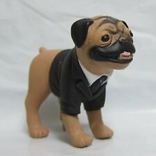 "MEN IN BLACK II Frank The Pug Dog Figure Toy 2.5"" Tall"