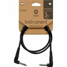 "Planet Waves Classic 1/4"" Right-Angle Guitar Instrument Bass Patch Cable 3ft"