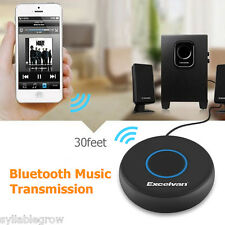 Wireless Bluetooth Hands-free Car Kit AUX Audio Music Receiver for Ios Android