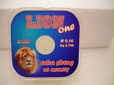 monofilo lion one da 100mt mm0.18 kg 3.350 surf pesca mfat68