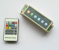 RF RGB LED  CONTROLLER Remote + TOUCH PAD for 5050 SMD Strip DC 12-24V - UK FAST