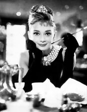 "AUDREY HEPBURN Art Silk Poster 24x32"" Breakfast At Tiffany's Vintage Picture"