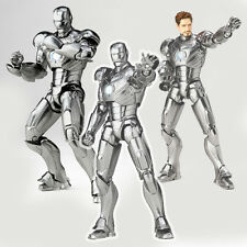 The Avengers Ironman Iron Man Tony Stark Mark II MK2 LED Figure Figurine No Box