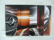 Mercedes-Benz Concept A-CLASS - Prospekt Brochure 09.2011