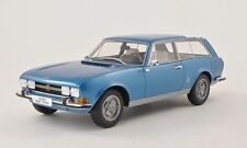 BoS 1971 Peugeot Break Riviera Blue Metallic 1:18 scale! LE 1000 Rare Find!