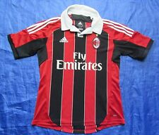 AC MILAN home jersey Shirt ADIDAS 2012-2013 Italian Club Rossoneri /men// Size M