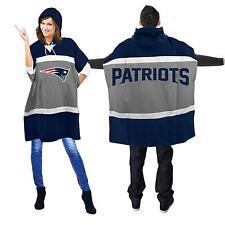 New England Patriots Sweatshirt Hoodie Poncho