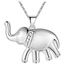 Hot New Fashion Jewelry 925 Silver fine gift Elephant necklace Female Pendant