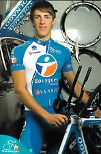 CYCLISME carte cycliste GAUDIN DAMIEN  équipe BOUYGUES TELECOM 2010