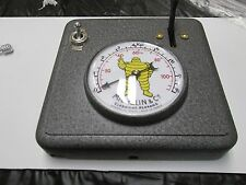 "1920's Michelin Man Air Pump Compressor Bibendum ""TOP Air Gauge COVER"" NEW!"