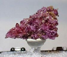 EXQUISITE MANGAN-VESUVIANITE crystal group Jeffrey Mine, Asbestos QC