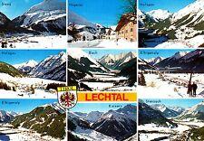 Lechtal , Ansichtskarte , 19?? gelaufen
