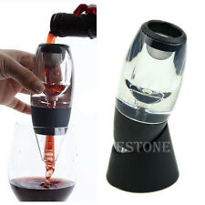 Filter New Red Wine Aerator Magic Decanter Essential Wine Aerator Set W/Gift Box