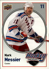 2009-10 Upper Deck Hockey Heroes Mark Messier #HH24 Mark Messier Rangers