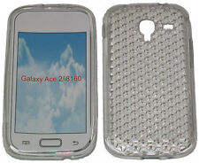 For Samsung Galaxy Ace 2 GT i8160 Pattern Gel Jelly Case Protector Cover Clear