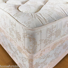 """*NEW* 4ft 6"""" Double 10 INCH ORTHOPAEDIC DEEP QUILTED DAMASK MATTRESS"""