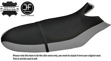 BLACK & GREY CUSTOM FITS SEA DOO RX 00-06 AUTOMOTIVE VINYL SEAT COVER + STRAP