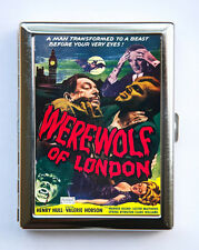 Werewolf in London Cigarette Case Wallet Business Card Holder horror movie